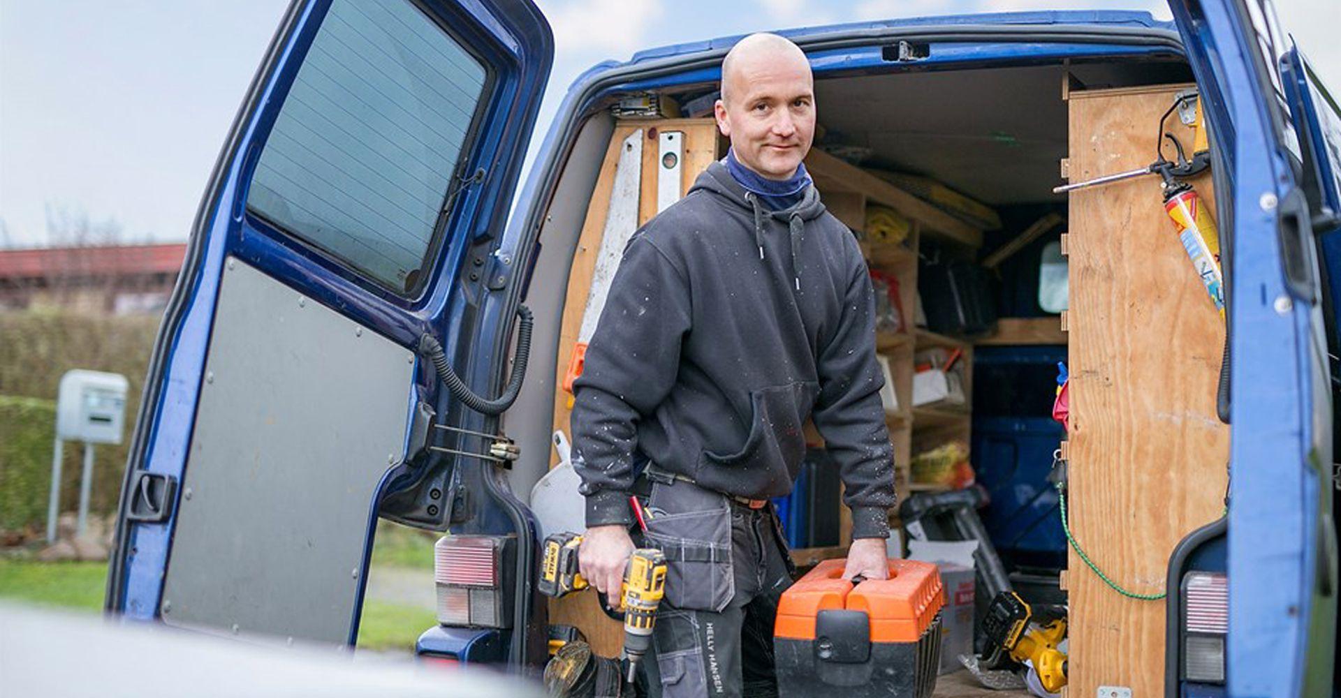 Omhyggeligt og effektivt tømrerarbejde i høj kvalitet